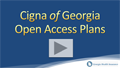 Cigna of Georgia Open Access Value Health Insurance Video Review