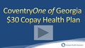 Coventry One of Georgia $30 Copay Health Insurance Video Review