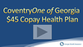Coventry One of Georgia $45 Copay Health Insurance Video Review